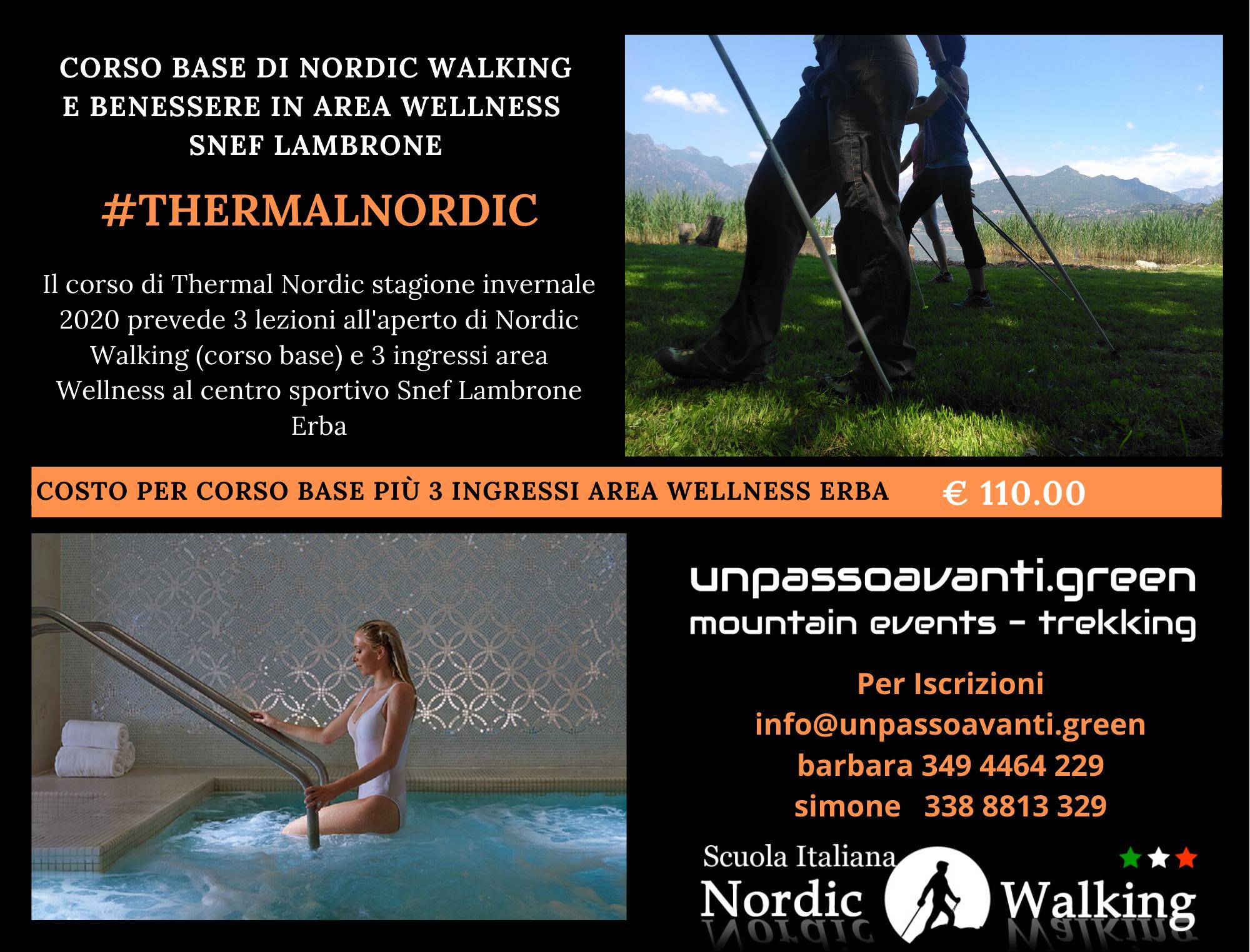 #NordicWalking Corso Base e Termale