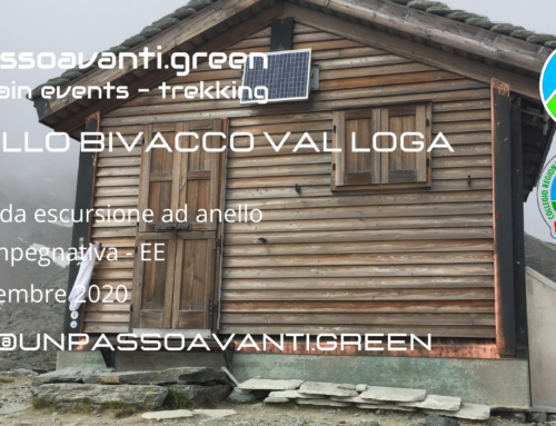 Anello Bivacco Val Loga – 19 Settembre 2020