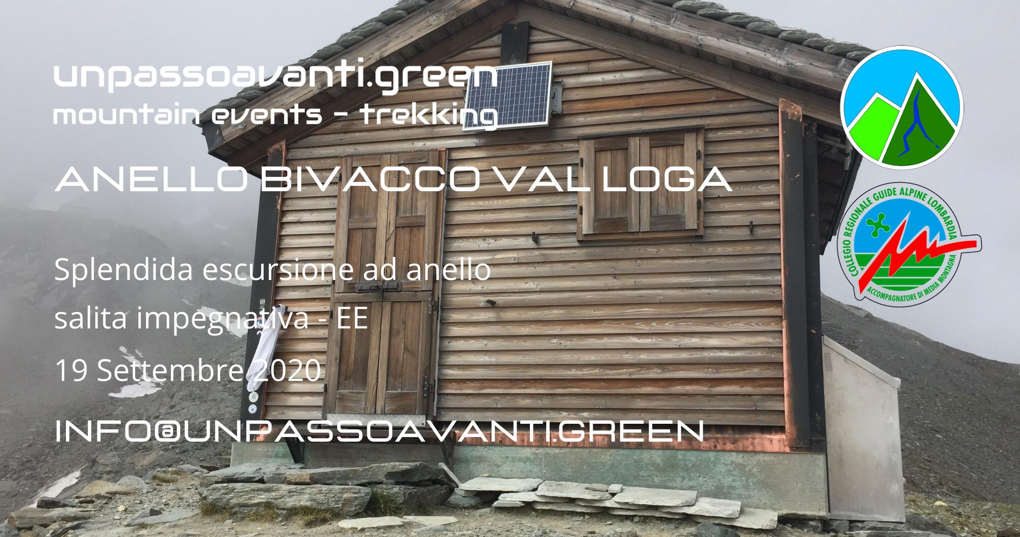 Anello Bivacco Val Loga Cecchini unpassoavanti.green