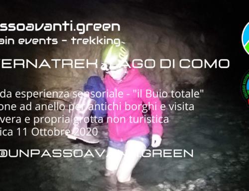 #CaveTrek #GrottaTrek #TotalBlackExperience – 11 Ottobre 2020