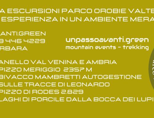 #ParcoOrobieValtellinesi – Programma 2021 gite nel parco delle Orobie Valtellinesi